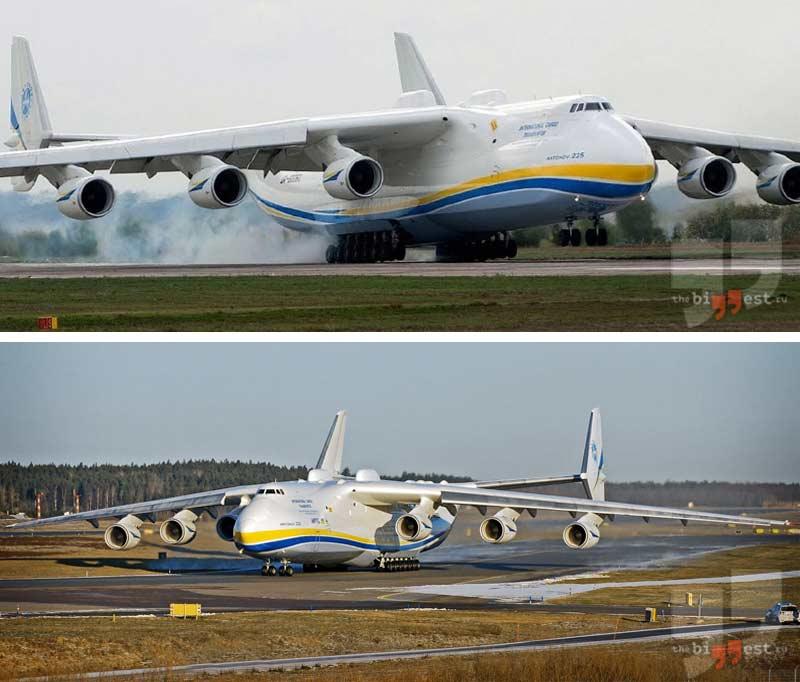 Самый большой самолет мира - Мрия