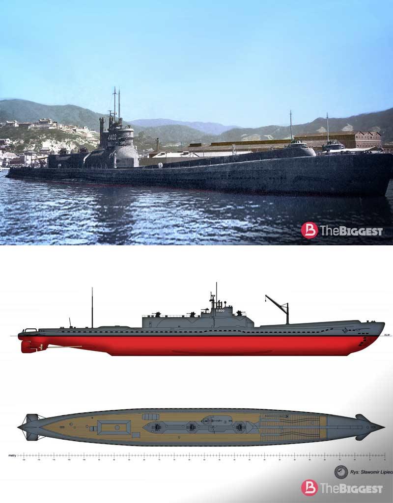 Подводный авианосец I 400