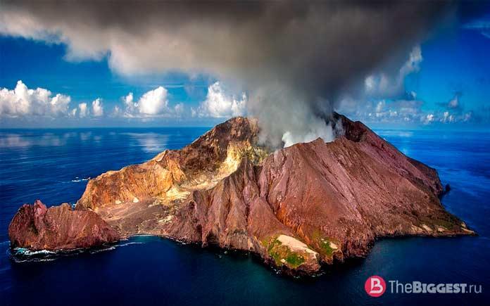 Самые большие вулканы мира