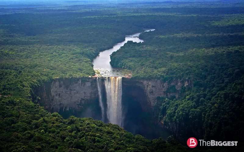 кайетур водопад