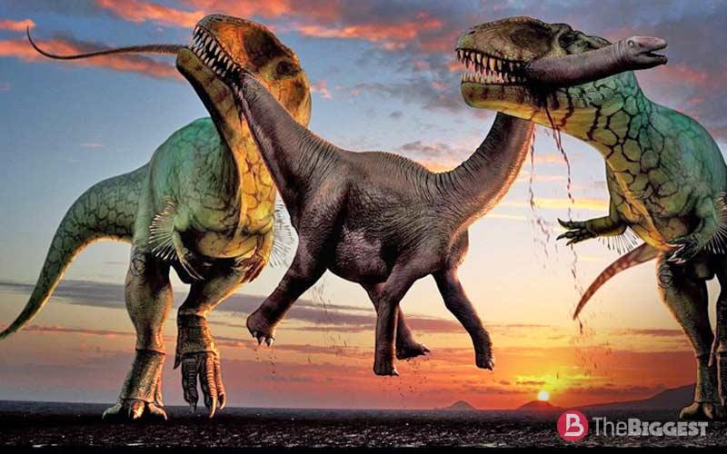 Самые большие динозавры, известные науке