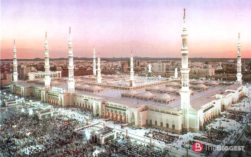 Мечеть пророка. Медина