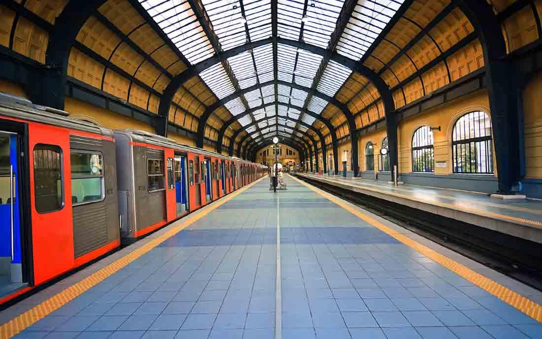Самые крупные линии метро
