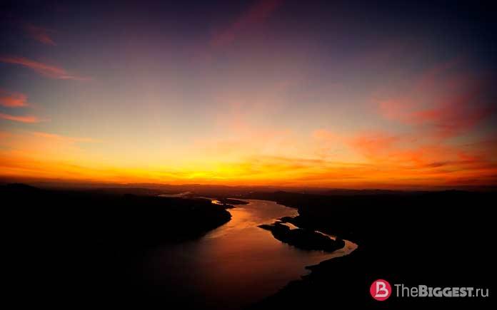 Список самых больших рек Земли