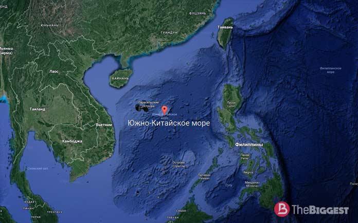 Южно Китайское море - самое солёное в мире