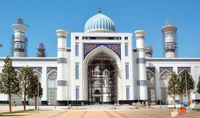 Мечеть в Душанбе