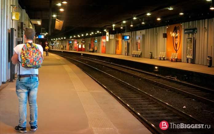 Парижское метро входит в рейтинг больших метрополитенов