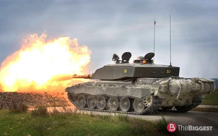 Самые большие танки: Challenger-2