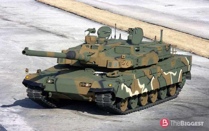 """Самые большие танки: K2 """"Черная пантера"""""""