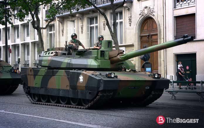 Самые большие танки: Leclerc