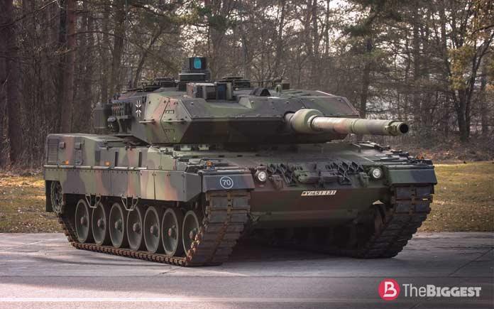 Самые большие танки: Леопард 2A7