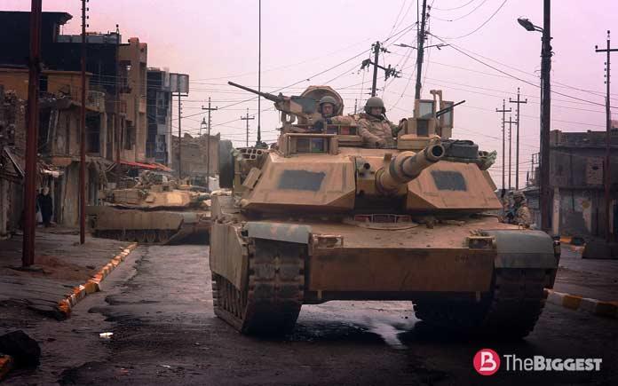 Самые большие танки: M1A2