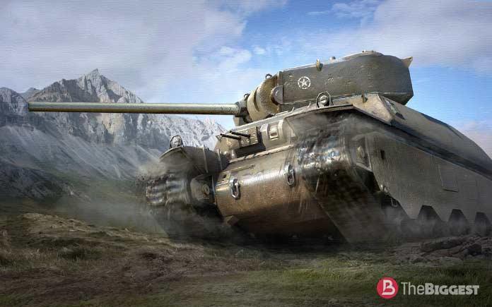 Самые большие танки: М6