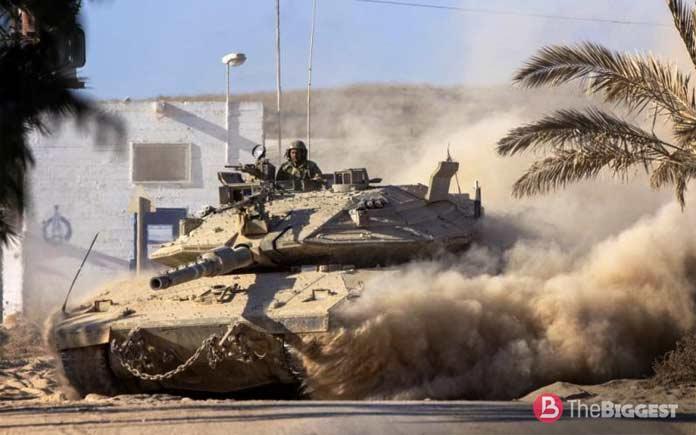 Самые большие танки: Merkava-Mark-IV