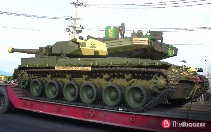 Самые большие танки: БМ «Оплот»