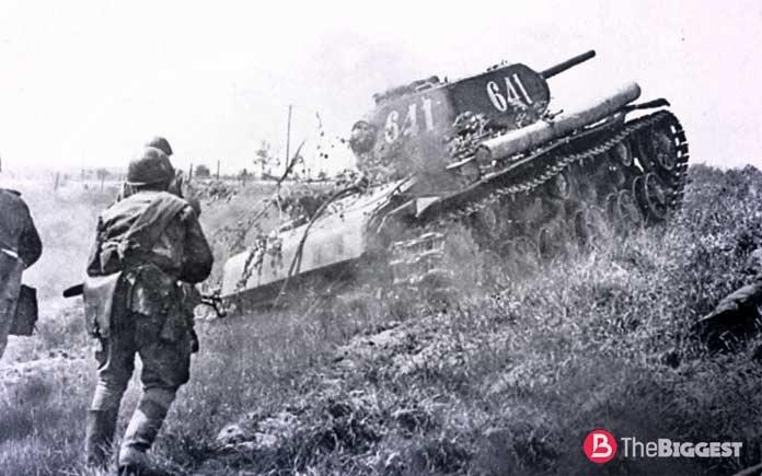 Танковое сражение на Курской дуге
