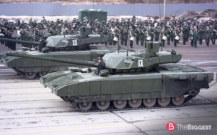 Самые большие танки: Танк Армата