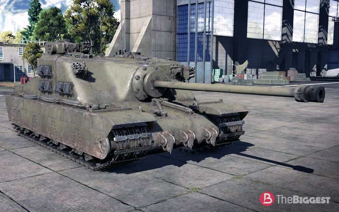 Самые большие танки: Tortoise A39