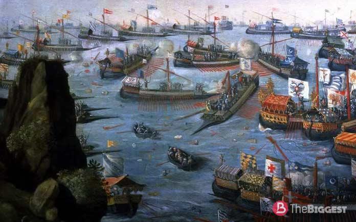 Самые крупные морские сражения: Битва при Лепанто