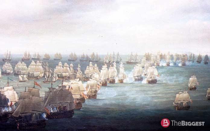 Самые крупные морские сражения: Битва у мыса Трафальгар