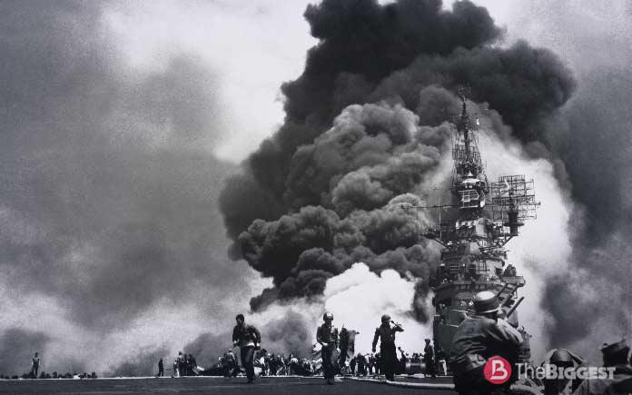 Самые крупные морские сражения: Бой у Лейте