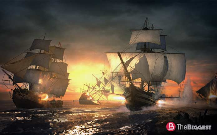Крупные морские сражения