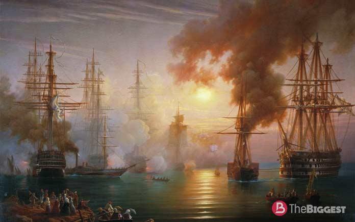 Самые крупные морские сражения: Синопская битва