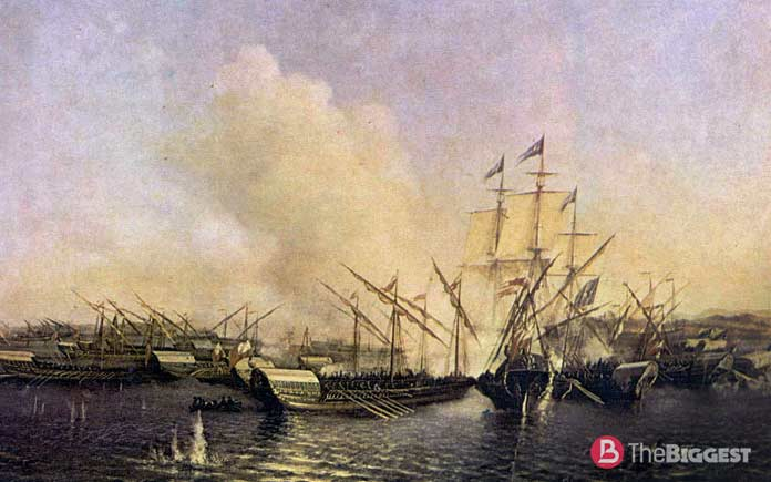 Самые крупные морские сражения: Битва при Гангуте