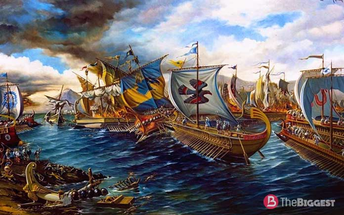 Самые крупные морские сражения: Саламинское Сражение