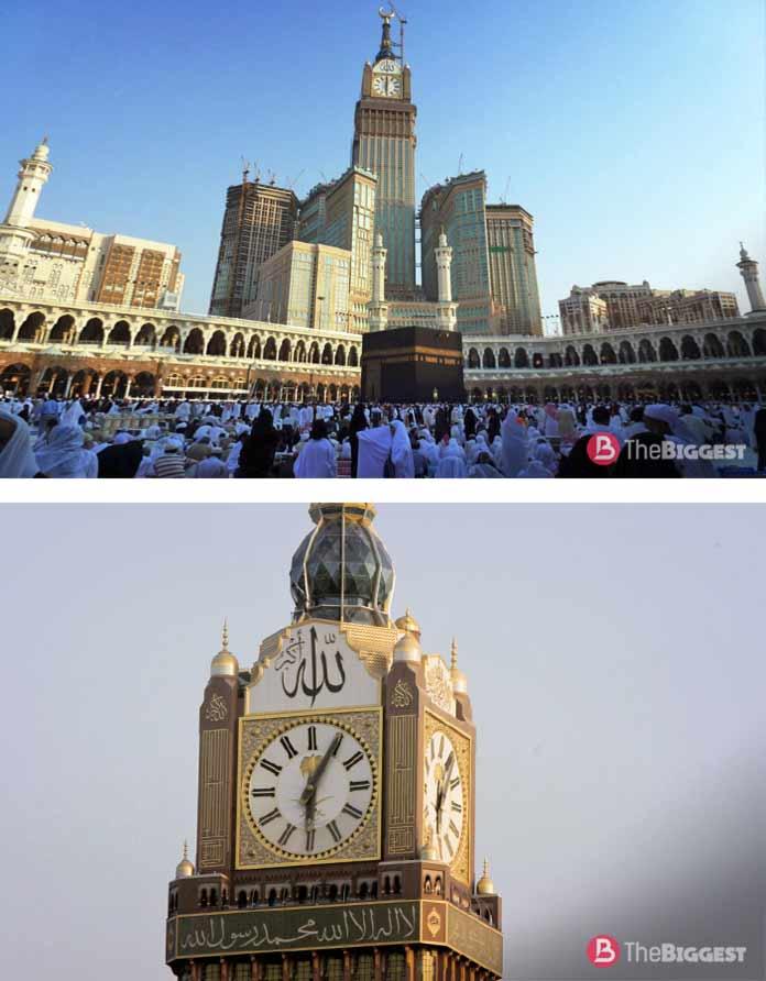 Часы на башне Абрадж аль-Бейт