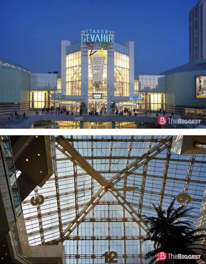 Самые большие часы в мире: Cevahir Mall