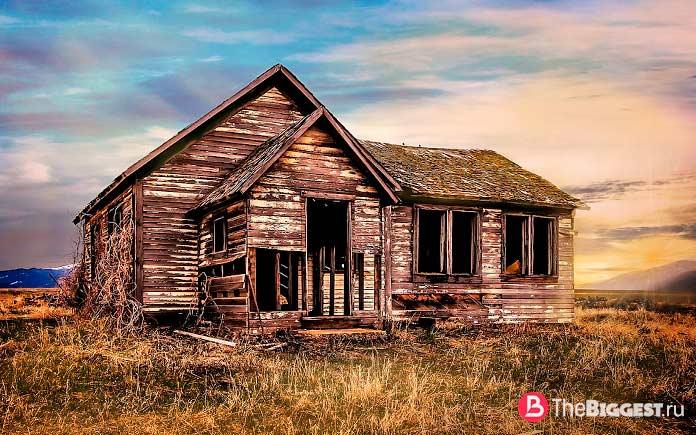 заброшенный Дом-призрак