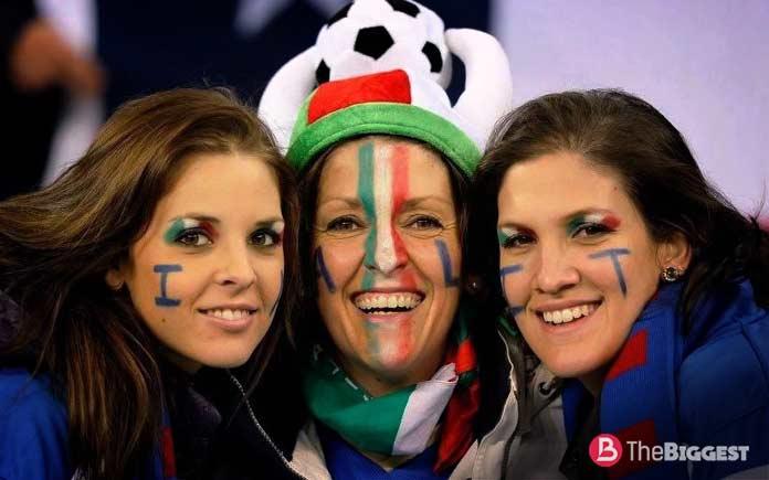 Итальянцы. самая большая нация
