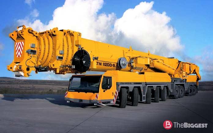 Самые большие автокраны: Liebherr LTM 11200-9.1