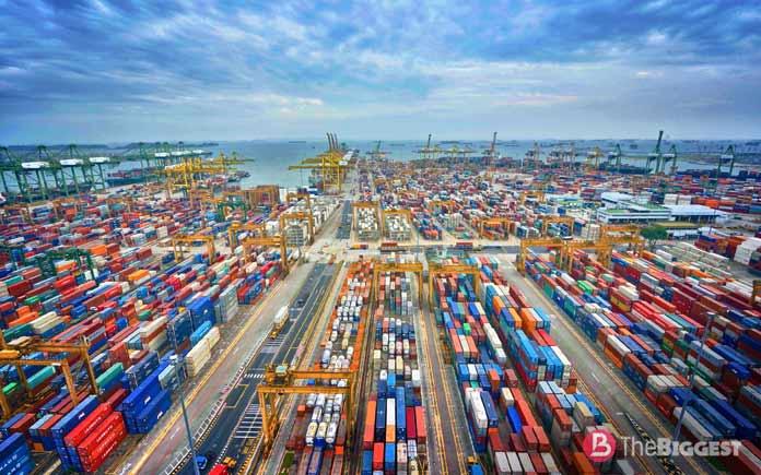 Сингапур. Самые крупные порты
