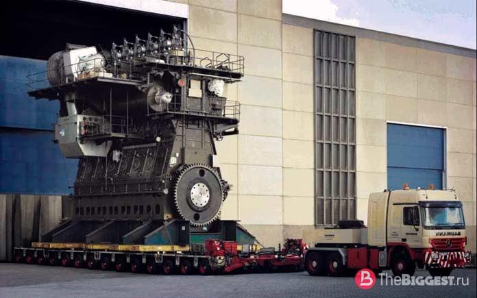 Самые большие двигатели: Wärtsilä-Sulzer RTA96