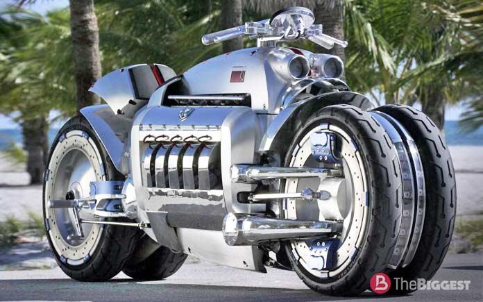 Самые мощные мотоциклы в мире: Dodge Tomahawk