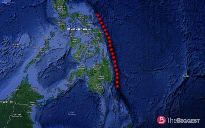 Самые глубокие места планеты: Филиппинский жёлоб