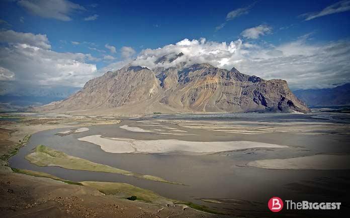 Самые высокие реки: Инд верхнее течение