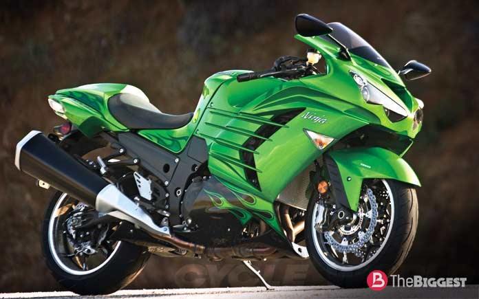 Самые мощные мотоциклы в мире: Kawasaki Ninja