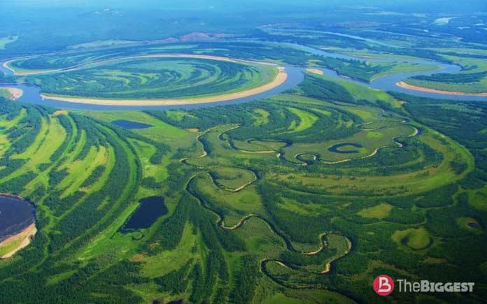 Большой речной бассейн: Лена