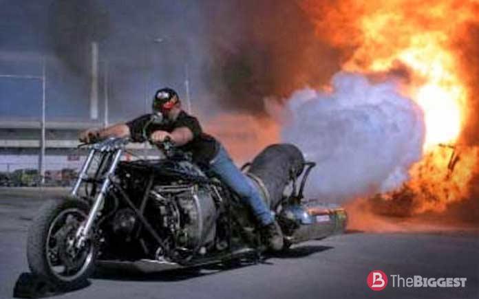 Mad Ron Laycock. Самый мощный мотоцикл