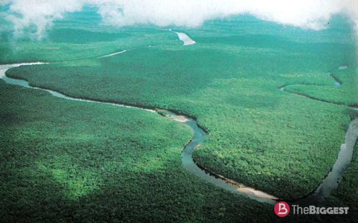 Самые высокие реки: Ориноко