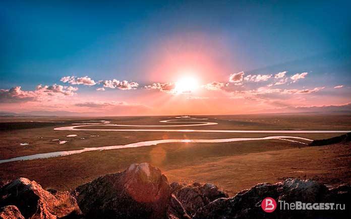 Самый большой речной бассейн в мире