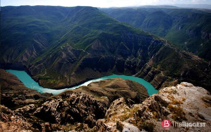Самые высокие реки: Терек