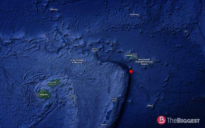Самые глубокие места планеты: Жёлоб Тонга