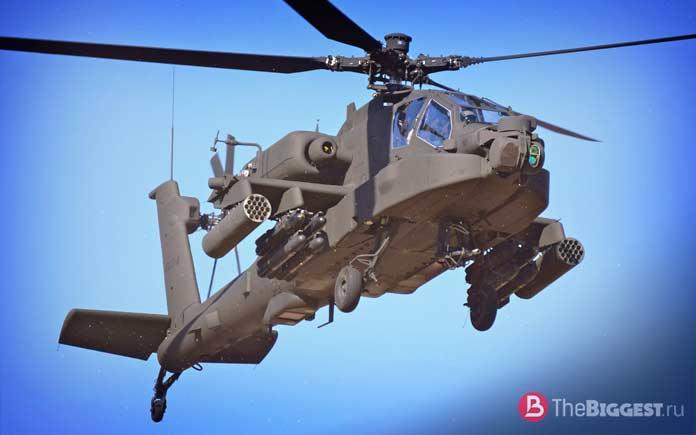 Мощные ударные вертолёты: AH-64E