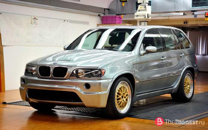 Самые дорогие BMW в мире: X5Le Mans Concept