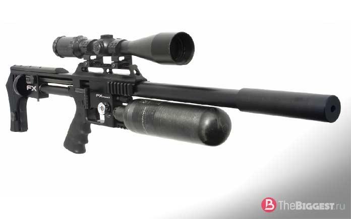 Самые мощные пневматические винтовки: FX IMPACT