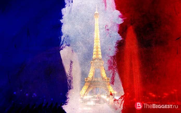Флаг Франции. CC0